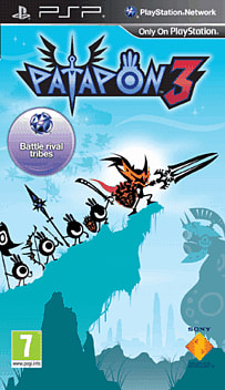 Patapon 3 PSP Cover Art