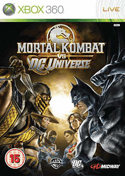 Mortal Kombat vs. DC Universe Xbox 360 Cover Art