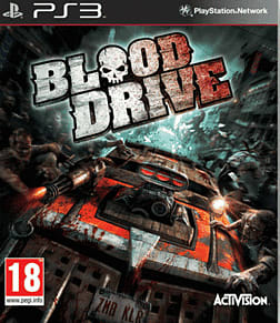 Blood Drive PlayStation 3 Cover Art
