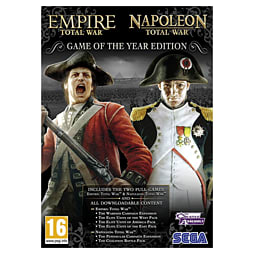 Empire: Total War + Napoleon: Total War GOTY Edition PC Games and Downloads Cover Art