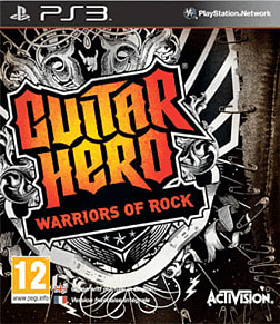 Guitar Hero: Warriors of Rock Bundle PlayStation 3 Cover Art