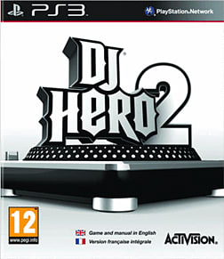 DJ Hero 2 Solus PlayStation 3 Cover Art