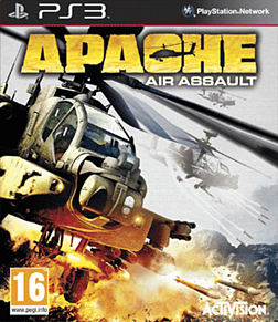 Apache Air Assault PlayStation 3 Cover Art