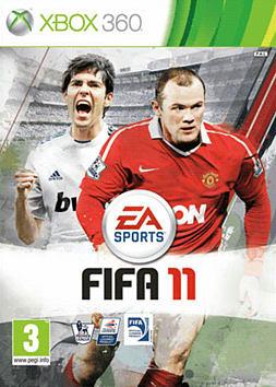 FIFA 11 Xbox 360 Cover Art