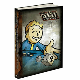 Fallout: New Vegas Collectors Edition Strategy Guide Strategy Guides and Books