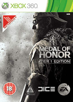 Medal of Honor Limited Tier 1 Edition Xbox 360 Cover Art