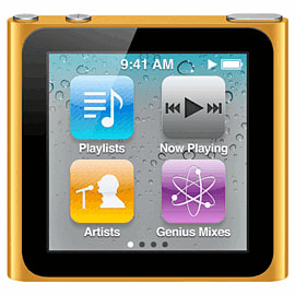 iPod Nano 8Gb Orange (V4) Electronics