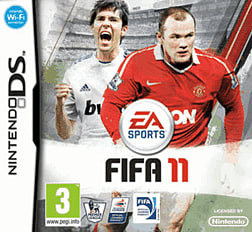 FIFA 11 DSi and DS Lite Cover Art