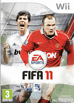 FIFA 11 Wii Cover Art