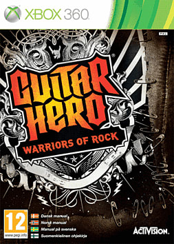 Guitar Hero: Warriors of Rock Bundle Xbox 360 Cover Art