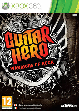 Guitar Hero: Warriors of Rock Solus Xbox 360 Cover Art