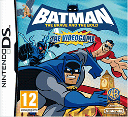 Batman: The Brave and the Bold DSi and DS Lite Cover Art