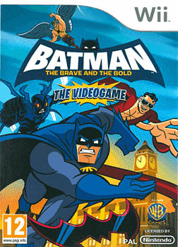 Batman: The Brave and the Bold Wii Cover Art
