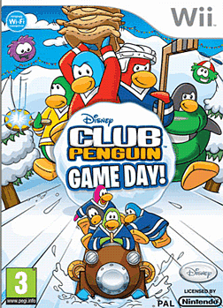 Club Penguin Game Day Wii Cover Art