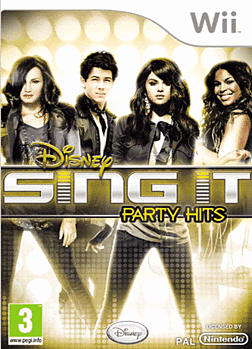 Sing It: Party Hit's Wii Cover Art