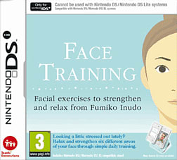 Face Training DSi and DS Lite Cover Art