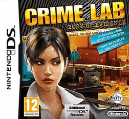 Crime Lab: Body of Evidence DSi and DS Lite Cover Art