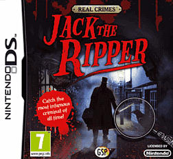 Jack the Ripper DSi and DS Lite Cover Art