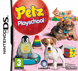 Petz: Play School DSi and DS Lite Cover Art