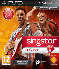 Singstar Guitar (Move Compatible) PlayStation 3 Cover Art