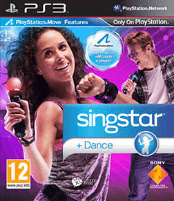 Singstar Dance: Move PlayStation 3 Cover Art