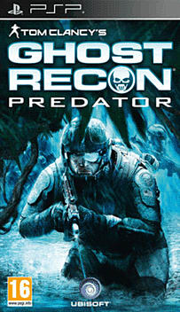 Tom Clancy's Ghost Recon Predator PSP Cover Art