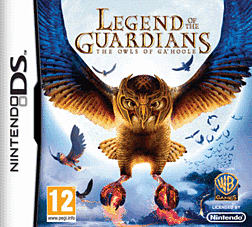Legends of the Guardians: The Owls of Ga'Hoole DSi and DS Lite Cover Art