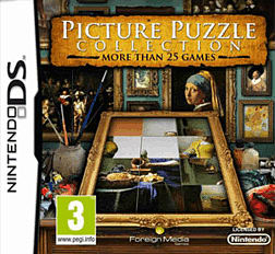 Picture Puzzle Collection: The Dutch Masters DSi and DS Lite Cover Art