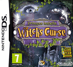 Witch's Curse DSi and DS Lite Cover Art
