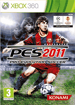 Pro Evolution Soccer 2011 Xbox 360 Cover Art