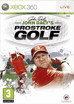John Daly's ProStroke Golf: World Tour Xbox 360 Cover Art