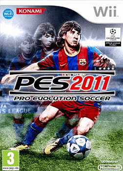 Pro Evolution Soccer 2011 Wii Cover Art