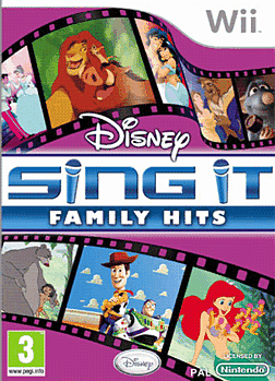 Sing It Family Hits Wii Cover Art