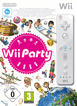 Wii Party with Wii Remote Wii Cover Art