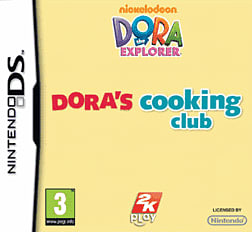 Dora's Cooking Club DSi and DS Lite Cover Art