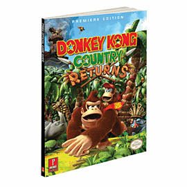 Donkey Kong Country Returns Strategy Guide Strategy Guides and Books 