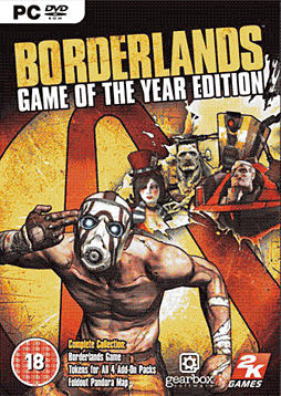 Borderlands Game of the Year Edition PC Games and Downloads Cover Art
