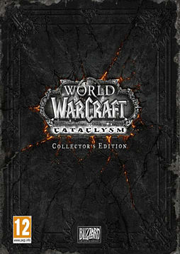 World of Warcraft: Cataclysm Collector's Edition PC Games and Downloads Cover Art