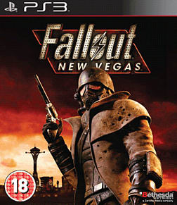 Fallout: New Vegas PlayStation 3 Cover Art