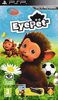 Eyepet with Camera PSP Cover Art