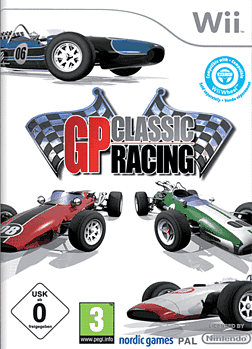 GP Classic Racing [Racing Wheel Bundle] Wii Cover Art