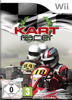 Kart Racer [Racing Wheel Bundle] Wii Cover Art