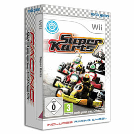 Super Karts [Racing Wheel Bundle] Wii Cover Art