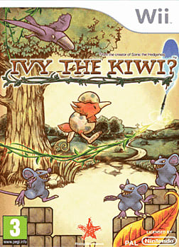 Ivy the Kiwi Wii Cover Art
