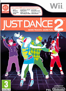 Just Dance 2 Wii Cover Art