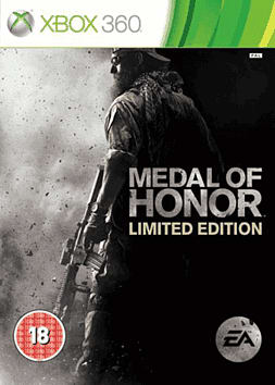 Medal of Honor Limited Edition Xbox 360 Cover Art