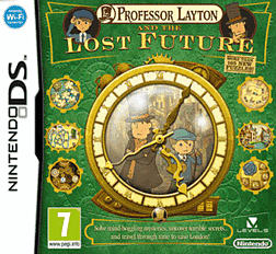 Professor Layton and the Lost Future DSi and DS Lite Cover Art