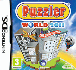 Puzzler World 2011 DSi and DS Lite Cover Art