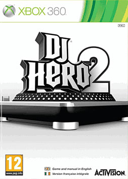 DJ Hero 2 Bundle Xbox 360 Cover Art