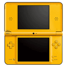 Nintendo DSi XL Yellow DSi and DS Lite